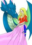 Dragon Lady by agateczka21--Colored by Day--V