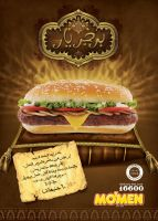 mo'men burger: burgeryar ad by marwael