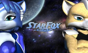 Team Star Fox wallpaper by Bigjim3D