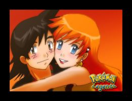 Pokemon Legends: misty and ash by Nishi06