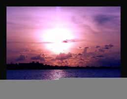 Sunset 4 Key West by Curim