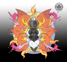 Fake Mega Volcarona by InProgressPokemon