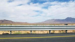 Driving Through the Mohave by JeanLuc761