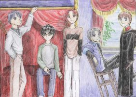 Harry Potter and His Roommates by flight514