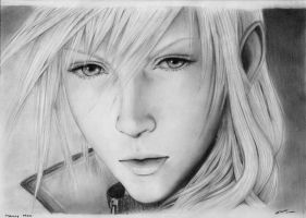 FFXIII: Lightning by nitiryan
