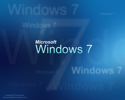 Windows 7 Wall by amine5a5