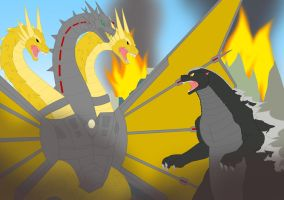 Rise of Mecha Ghidorah by Pyrus-Leonidas