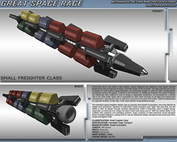 Great Space Race - Space Freighter by TurinuZ