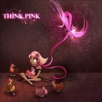 THINK PINK by WhiteTreeFox