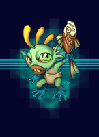 Murky: For the power of fish-skull! by Leto4rt