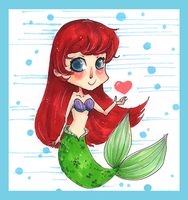 The Little Little Mermaid by Lahara