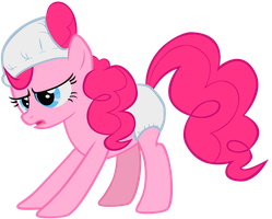 Pinkie Pie - In Diapers by Liggliluff
