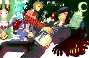 Persona 3 by starshock12