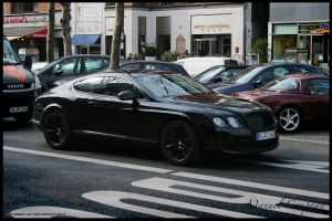 Bentley Continental GT by compaan-art