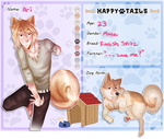 Happy Tails Application: Ari by Pinepuruu