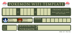 Pokemon Wifi Template by Fal-Cie