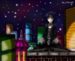 On The Rooftop by amelioration
