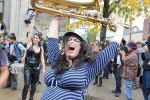 2014 Honk Festival, Chaotic Noise and Yell by Miss-Tbones
