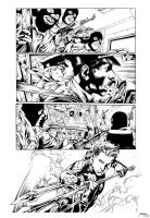 Inks - Aquaman Page by Ivan Reis by adr-ben