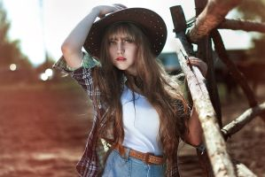 cowboy girl by Nocturny