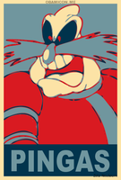 Vote Robotnik for Pingas by Zeta-Neubourn