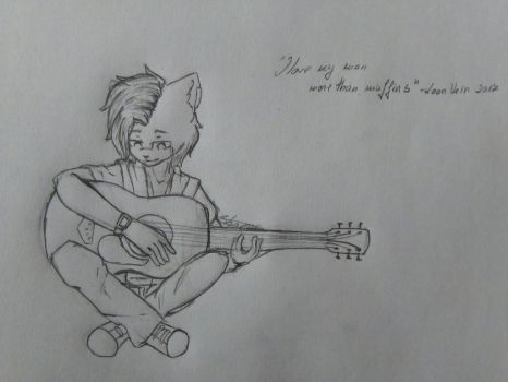 .:Leon:. Guitar by Diamond-Nights