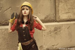 TF2 Fem Engineer Cosplay 2 by leAlmighty