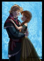 Anna and Kristoff by TallyBaby13