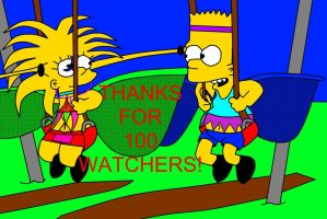 THANKS FOR 100 WATCHERS by Wiimeiser