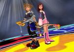 Sora and Kairi, the Unbreakable Bond by todsen19