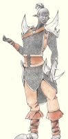 Commission - Drow of Sorio by Rena-Circa