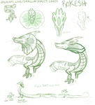 Urealms Live: Earth: Rokesh sketches/concept art by Pandas-R-Us