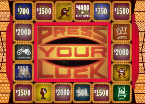 Press your Luck game board by fixxed2009