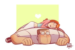 A Lovely Nap by Eurydice-is-Dying