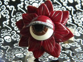 I Got My Eye On You-Polymer Clay-Halloween by ThePetiteShop
