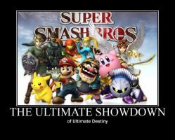 Poster - THE ULTIMATE SHOWDOWN by E-n-S