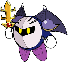 Meta Knight - Wings Out (JBX9001) by JBX9001
