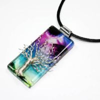 SPACE ODESSEY Tree of Life by Create-A-Pendant