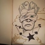 R.I.P Bowie by pauscorpi