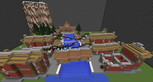 Japanese Inspired Town by Xeroph19
