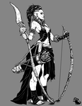 Bow Warrior by landuo