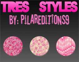 +3 Styles Rosados [By: PilarEditions9] by PilarEditions9