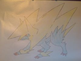 Pokemon - Mega Manectric by dewildbunbun