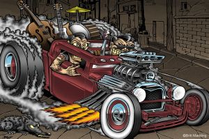 Rockin Roll Hot Rod by Britt8m