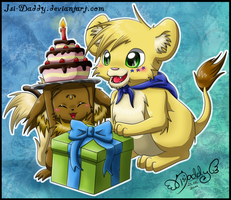 -Time For Cake- by Isi-Daddy