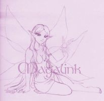 Great Fairy TP - Sketch by Maga-Link