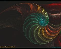 Grand Brocade Spiral by Alterren