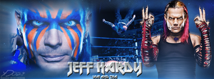 'Jeff Hardy - WWE And TNA' FB Cover by YeshuDave029
