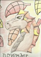The Dragon of November by IncredibleCheese