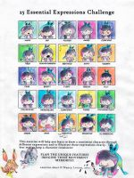 25 essential expressions by Lucky-phantom
